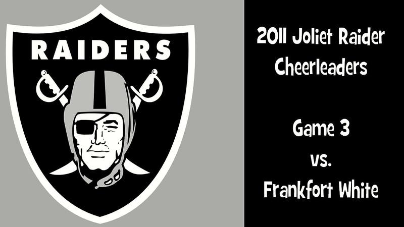 2011 Joliet Raiders Game 3 vs Frankfort White