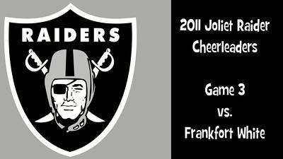 2011 Joliet Raiders Cheerleaders Game 3