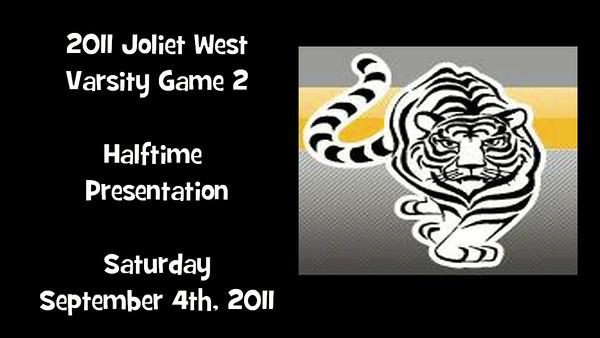 2011 Joliet West Varsity Game 2 vs Plainfield South Cheer