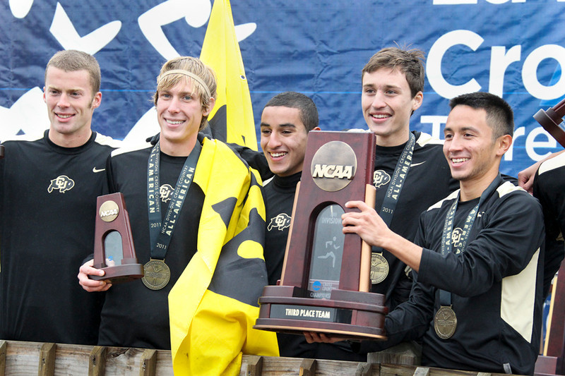 Colorado men's team finished 3rd.
