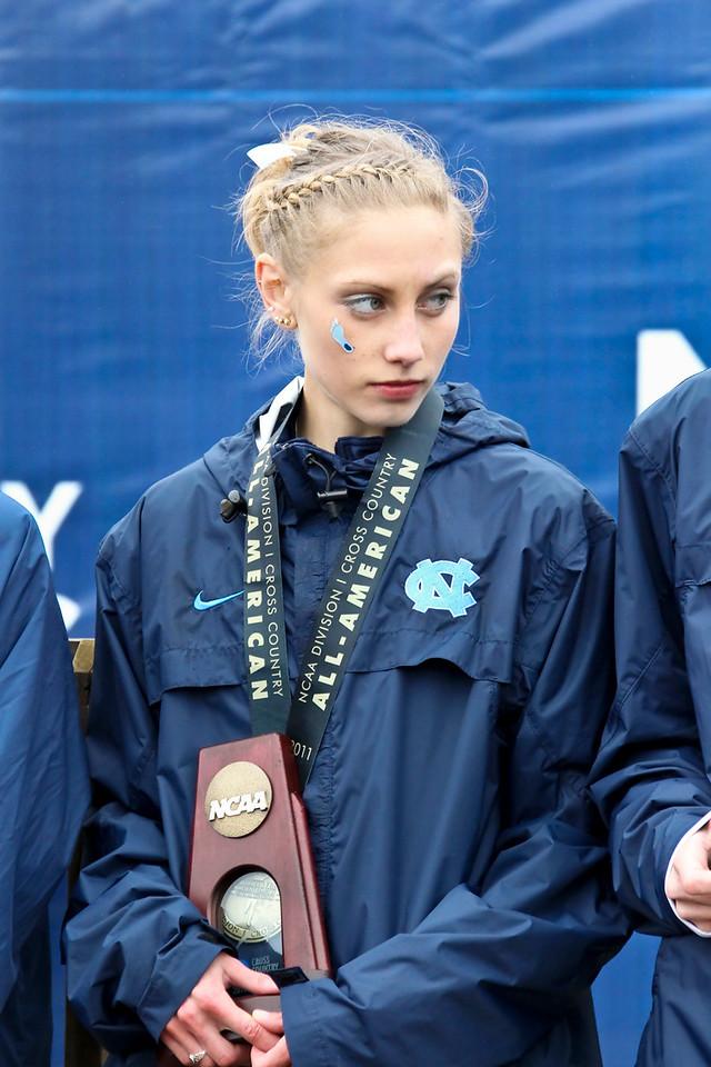 Kendra Schaaf of North Carolina finished 15th.