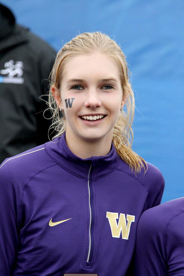 Katie Flood of Washington finished 7th.