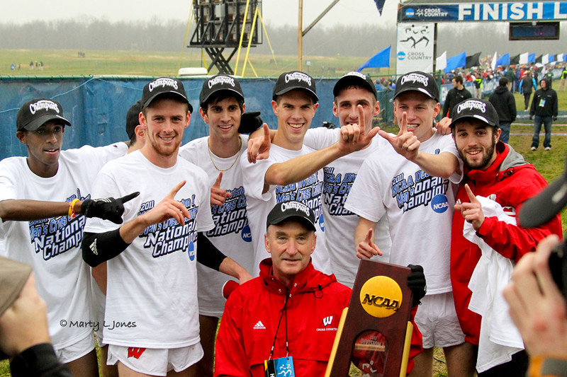 Wisconsin winner of men's title.