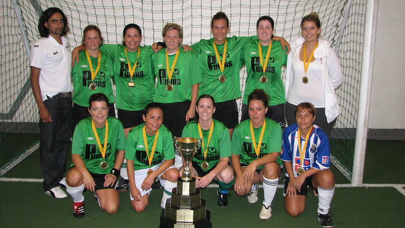 Lady Pumas - 2011 Summer Indoor Champions