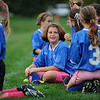 Seton Catholic School fifth and sixth grade girls CYO soccer team wears pink in honor of Breast Cancer Awareness Month.