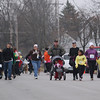 Record-Eagle/Keith King<br /> Participants travel along West Thirteenth Street Thursday, November 24, 2011 during the fourth annual Traverse City Turkey Trot.