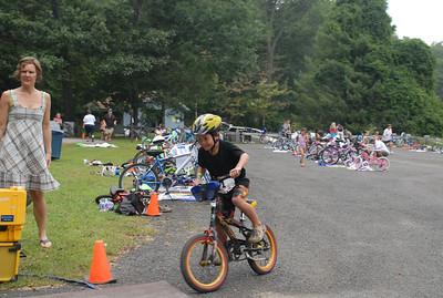 Kids Who Tri 2011 -- Bike