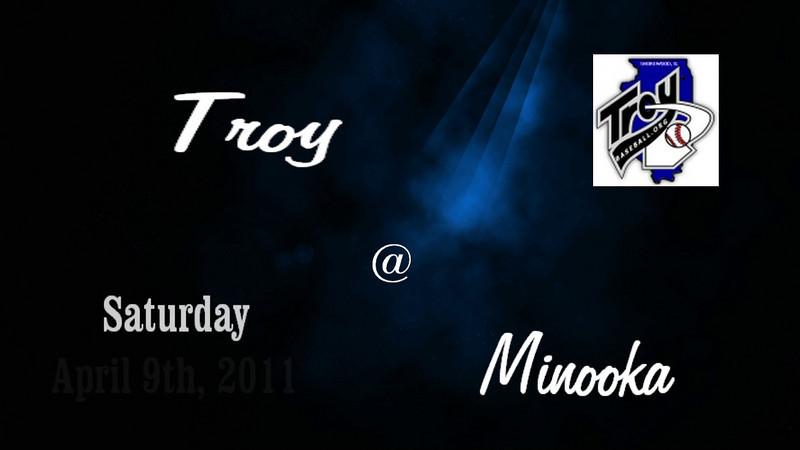 2011 Troy Sports Huddle Game 1 @ Minooka