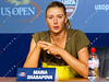 2011 US Open Tennis - photographer: Natasha Peterson / corleve -  Maria Sharapova - Interview