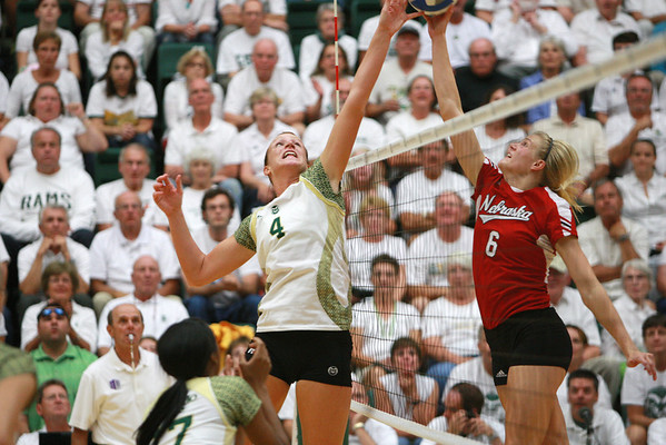 CSU vs. Nebraska VB 2011