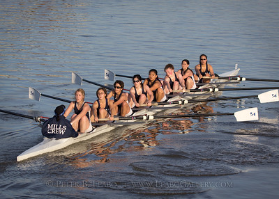 Womens Collegiate 8+ Mills A
