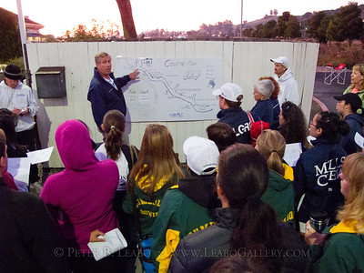 Wine Country Rowing Classic coxswain's meeting