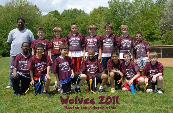 2011 Wolves Flag football