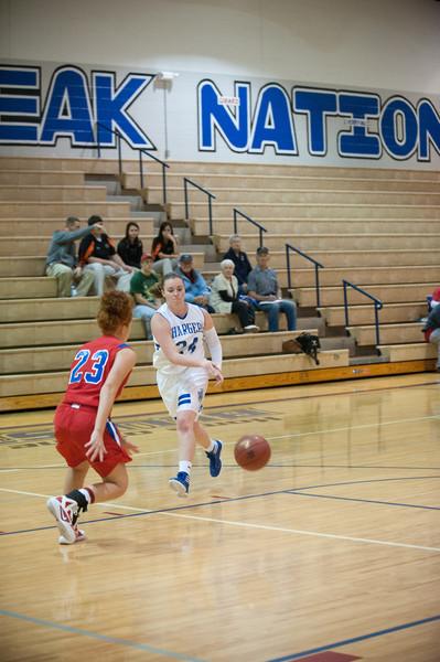 2011 - 2012 Caney Valley High School Girls basketball