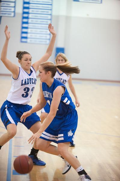 2011 - 2012 Cherryvale high School Girls basketball