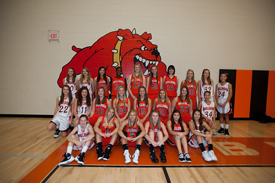 2011 - 2012 IHS girls basketball