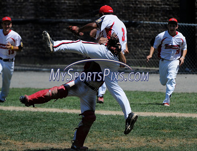 2011 CT American Legion Baseball State Tournament Branford vs Norwalk 7/30/2011