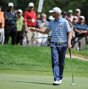 6/25/2011 Mike Orazzi | Staff Vaughn Taylor on 5 during the 2011 Travelers Championship at TPC River Highlands on Saturday, June 25, 2011.