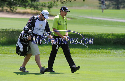 6/25/2011 Mike Orazzi | Staff Bryce Molder on 5 during the 2011 Travelers Championship at TPC River Highlands on Saturday, June 25, 2011.