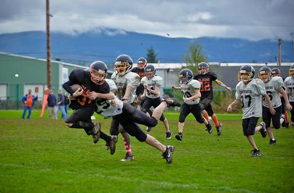 2011 10-22 Blaine Football - Kaelar-0045