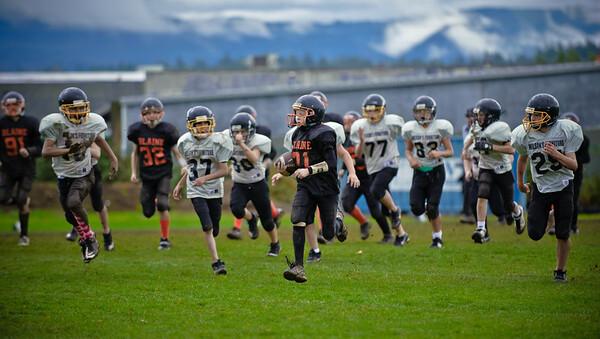 2011 10-22 Blaine Football - Kaelar-0040