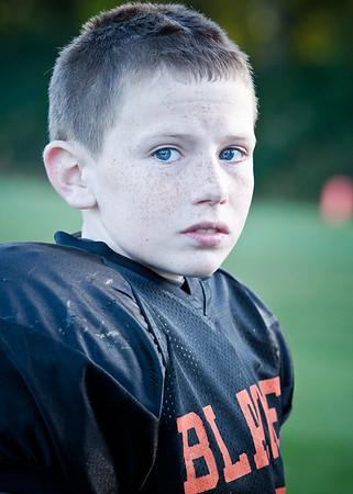 2011 10-29 Blaine Football - Kaelar-0507