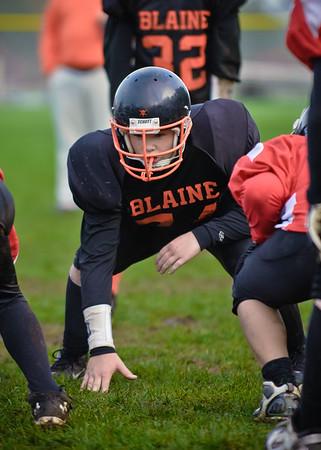 2011 10-29 Blaine Football - Kaelar-0433