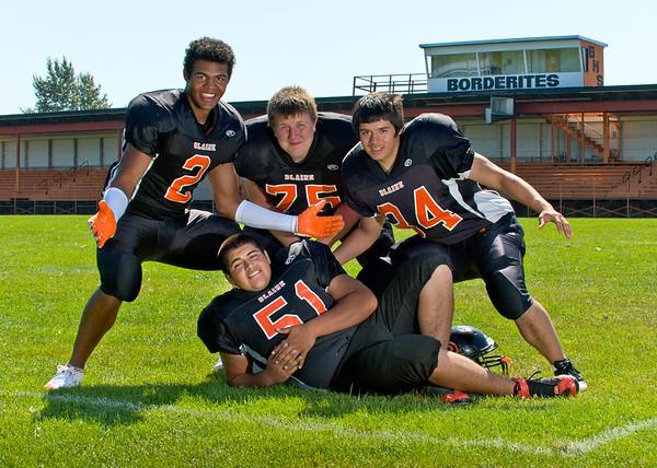 2011 8-27 Blaine Football Team-5567