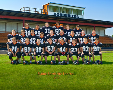 Blaine High School Football - Offical Team Pictures 2011
