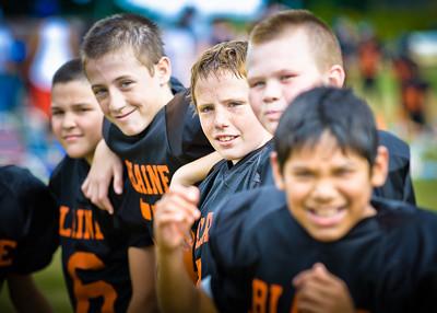 Blaine 6th Grade Football - Meridian 2011