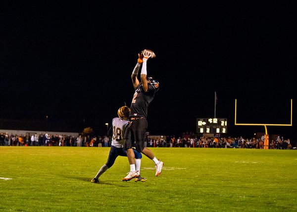 2011 10-7 Blaine Football - Burlington-8764