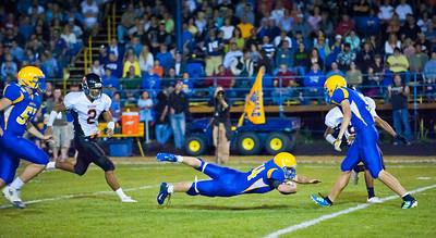 Blaine High School Football - Ferndale 2011