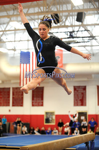 3/5/2011 Mike Orazzi | Staff The CIAC 2011 Gymnastics Open meet at Pomperaug's High School on Saturday.