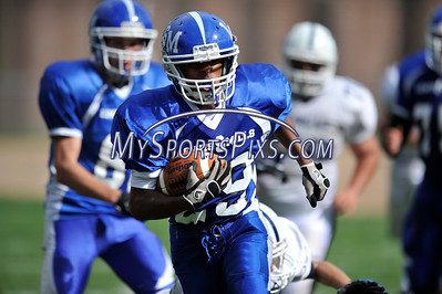 Lewis Mills Morgan Football 9/17/2011