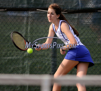 5/3/2011 Mike Orazzi | Staff Bristol Eastern's Katie Colbert during Tuesday's match with Tolland at BEHS.