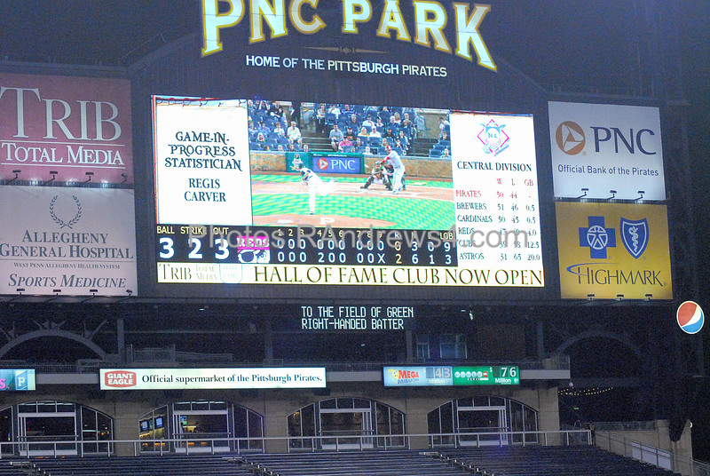 After 4 Pirate pitchers combine for a 3 hit shutout, Pittsburgh is in first place.