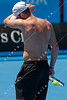 2011 Australian Open Tennis -Andy Roddick practices at HiSense Arena - photographer: Mark Peterson / corleve