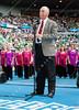 2011 Australian Open Tennis - photographer: Mark Peterson / corleve - Australia Day Celebration with the Australian Girls Choir and inductee Owen Davidson
