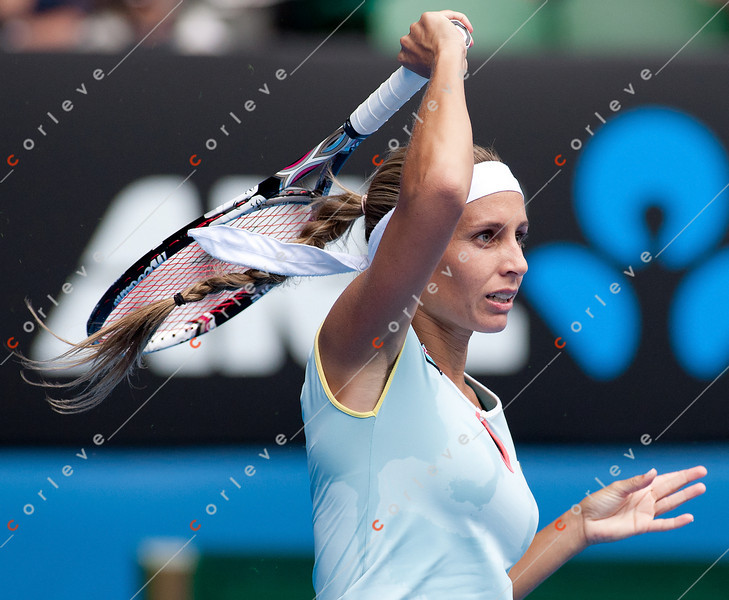 2011 Australian Open Tennis - photographer: Mark Peterson / corleve -WOZNIACKI, Caroline (DEN) [1] vs DULKO, Gisela (ARG)