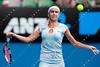 2011 Australian Open Tennis - photographer: Mark Peterson / corleve -WOZNIACKI, Caroline (DEN) [1] vs DULKO, Gisela (ARG)