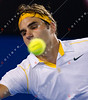 2011 Australian Open Tennis - photographer: Mark Peterson / corleve - DJOKOVIC, Novak (SRB) [3] vs FEDERER, Roger (SUI) [2]