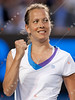 2011 Australian Open Tennis - photographer: Mark Peterson / corleve - DOKIC, Jelena (AUS) vs ZAHLAVOVA STRYCOVA, Barbora (CZE)