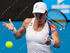 2011 Australian Open Tennis - photographer: Mark Peterson / corleve - BAMMER, Sybille (AUT) vs ZVONAREVA, Vera (RUS) [2]