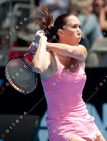 2011 Australian Open Tennis - photographer: Mark Peterson / corleve - JANKOVIC, Jelena (SRB) [7] vs KUDRYAVTSEVA, Alla (RUS)