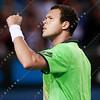 2011 Australian Open Tennis - photographer: Mark Peterson / corleve - PETZSCHNER, Philipp (GER) vs TSONGA, Jo-Wilfried (FRA) [13]