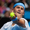 2011 Australian Open Tennis - photographer: Mark Peterson / corleve - TOMIC, Bernard (AUS) vs CHARDY, Jeremy (FRA)