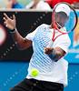 2011 Australian Open Tennis - photographer: Mark Peterson / corleve - YOUNG, Donald (USA) vs CILIC, Marin (CRO) [15]