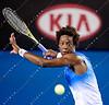 2011 Australian Open Tennis - photographer: Mark Peterson / corleve - GIL, Frederico (POR) vs MONFILS, Gael (FRA) [12]