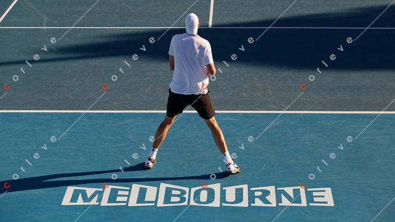 2011 Australian Open Tennis - photographer: Mark Peterson / corleve - ISNER, John (USA) [20] vs STEPANEK, Radek (CZE)