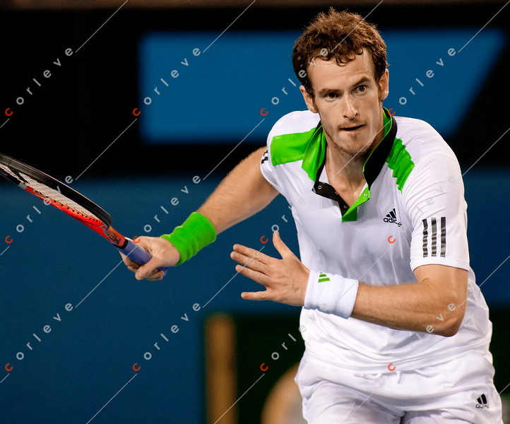 2011 Australian Open Tennis - photographer: Mark Peterson / corleve -MARCHENKO, Illya (UKR) vs MURRAY, Andy (GBR) [5]